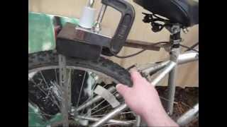 Amateur Radio Bicycle Mobile setup