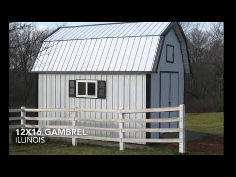 how to build gambrel barn rafter build