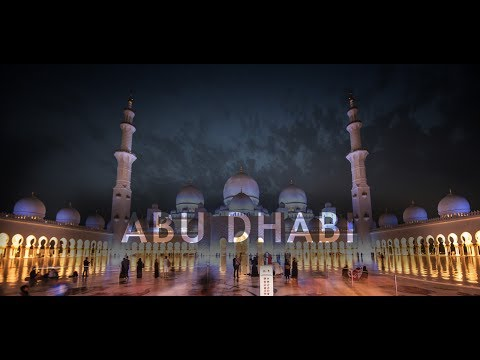 Travel Abu Dhabi in a Minute - Aerial Drone Videos