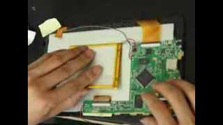 How to replace LCD screen on 9 inch Android tablet pc