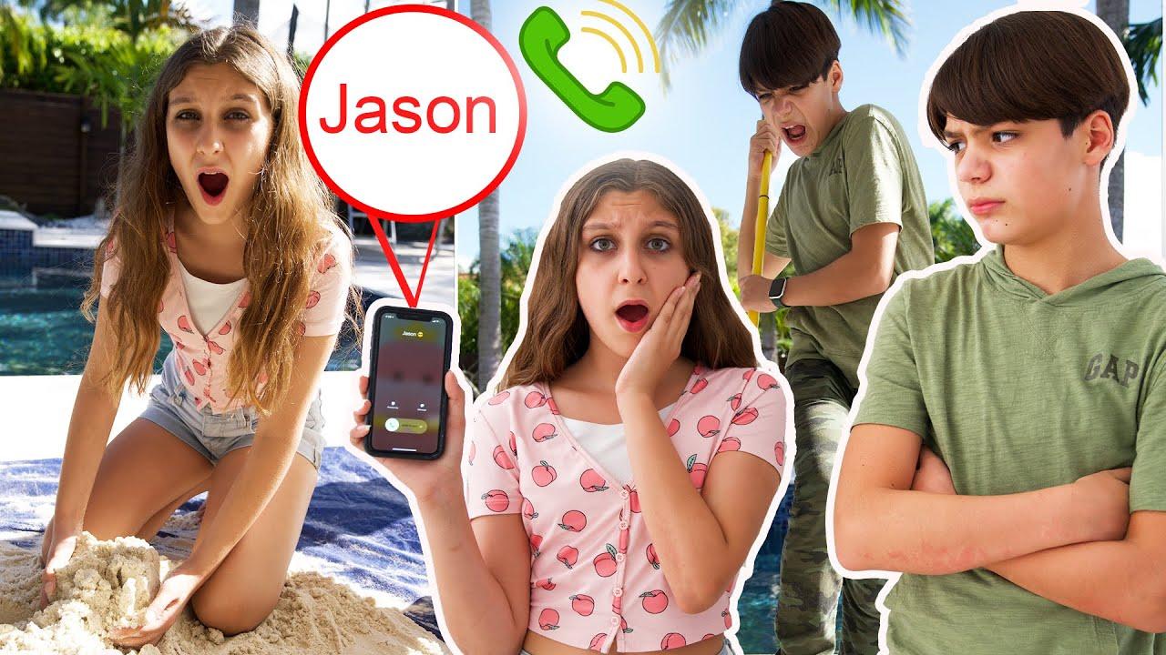 Justin REGRESA pero me descubre hablando con JASON? DIAMANTE CHALLENGE