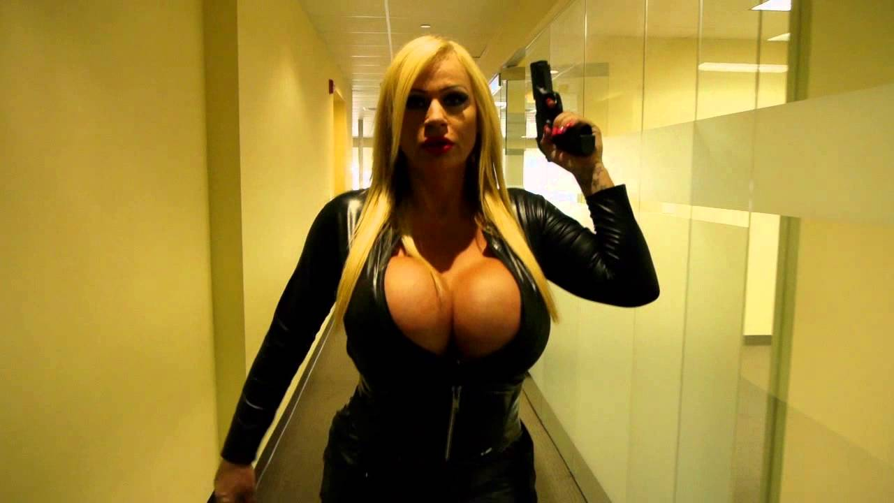 Curvy blondes giving hand jobs