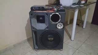 Caixa Trio com Target 15'' Snake 10'' D305 Twiter Hinor SD3000 E SD800 thumbnail