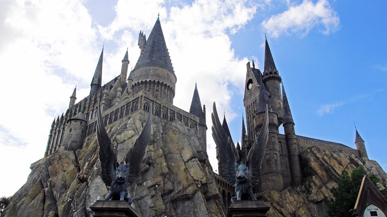 Live Wizarding World Of Harry Potter Hogwarts Hogsmead Universals Islands Of Adventures Youtube