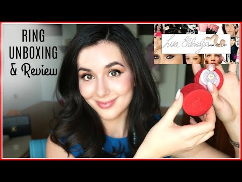 LISA ELDRIDGE RING UNBOXING & REVIEW!