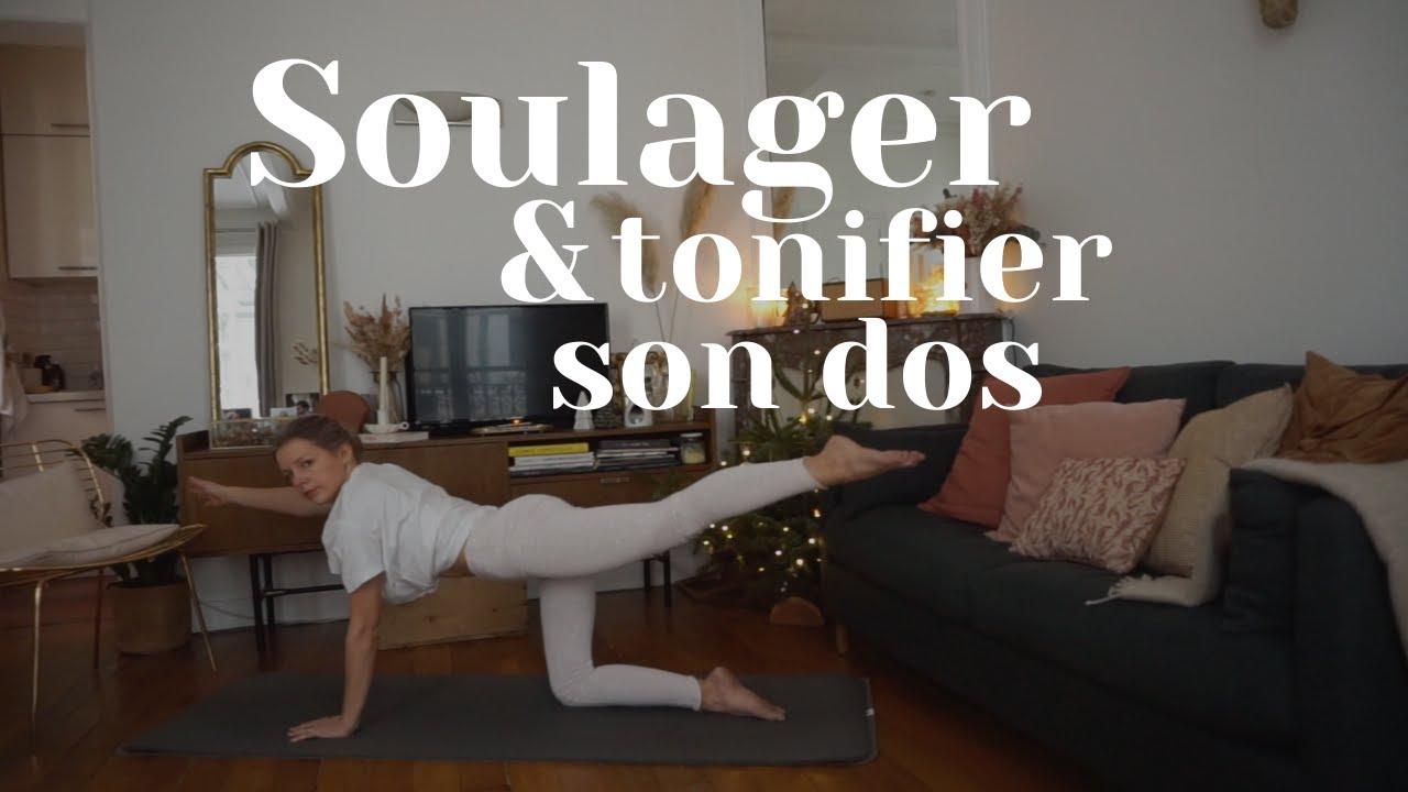 Séance de Yofit focus DOS : SOULAGER & TONIFIER - 20 minutes !