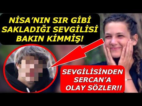Survivor Nisa'nın Sır Gibi Sakladığı Sevgilisi Bakın Kimmiş! Sevgilisinden Sercan'a Ayar Geldi!