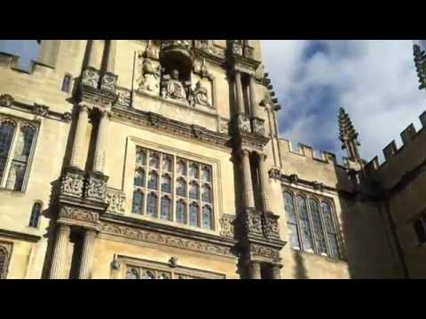 Bodleian Library quick tour with a great librarian - Oxford UK