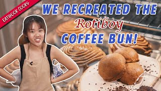 We Tried Making Rotiboy Coffee Buns  Eatbook Cooks - Circuit Bakers   EP 34