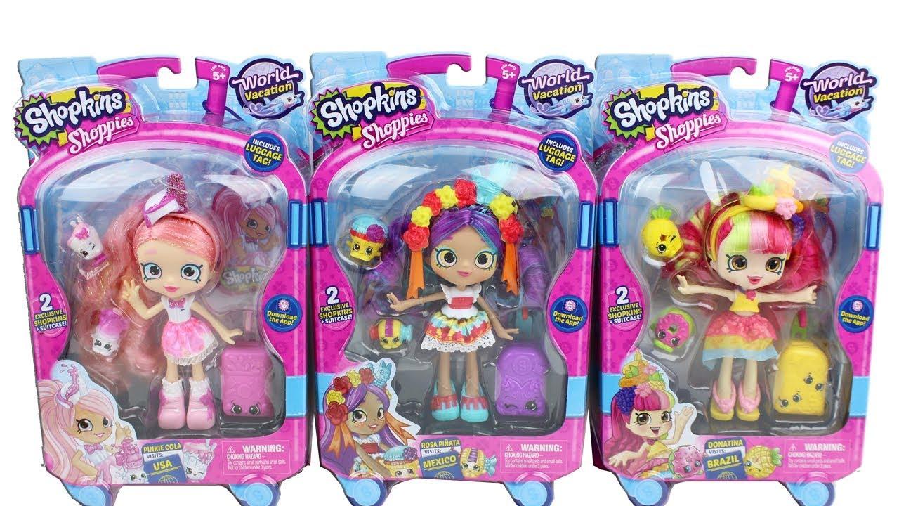 Shopkins Shoppies Dolls Season 8 World Vacation