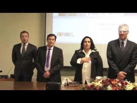 L'Ambasciatore Di Israele Naor Gilon Sul Tema : Medio Oriente Attualità E Prospettive