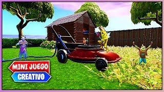 ESCONDITE EN EL *JARDIN GIGANTE* HIDE AND SEEK (FORTNITE MINIJUEGOS)
