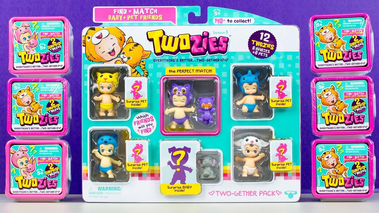 Twozies Season 1 Stingz /& Hums  baby /& pet set Moose toys twosies
