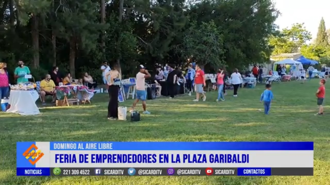 Feria de emprendedores en la Plaza Garibaldi