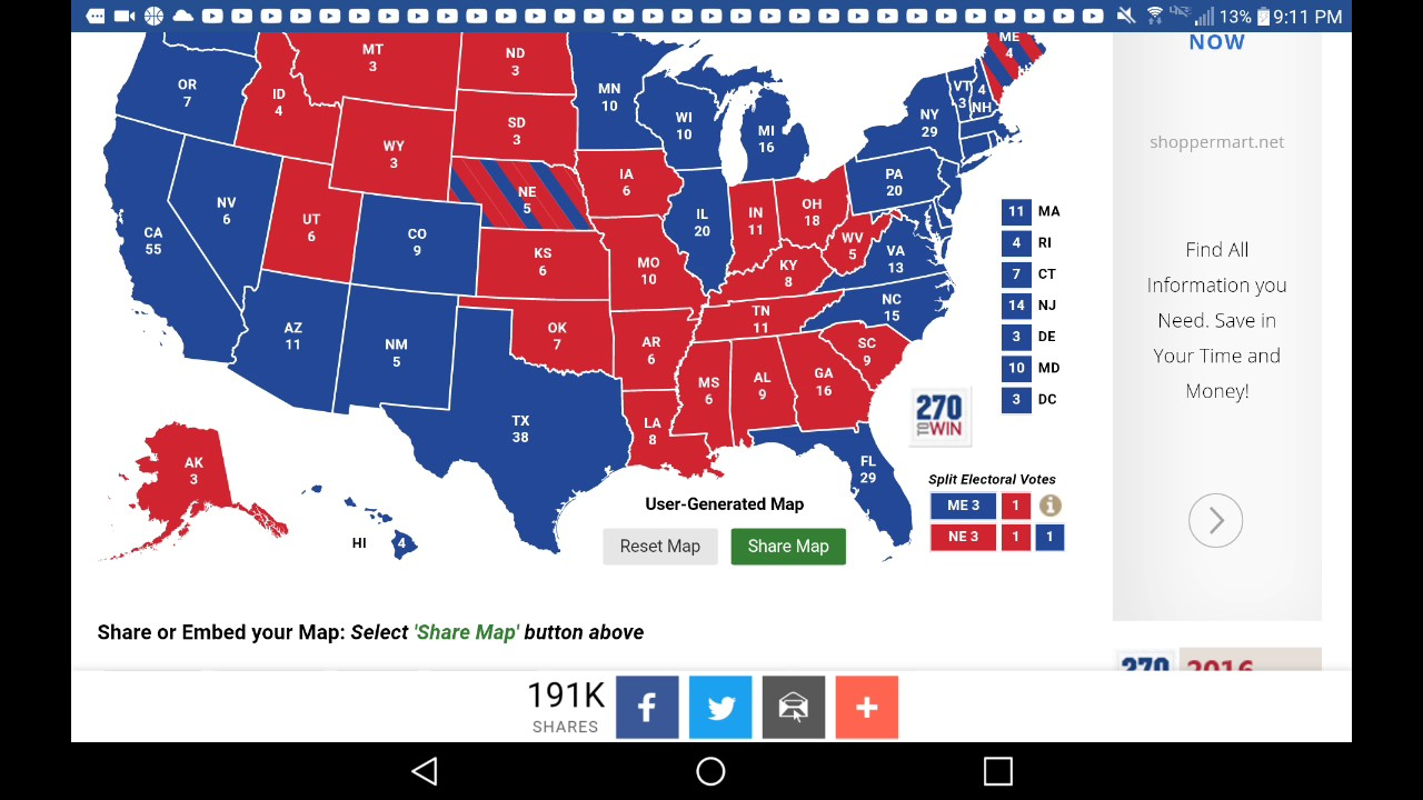 Election Prediction From March Th YouTube - Us electoral map prediction