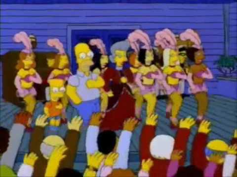 Cannabis - Ska-P. Los Simpsons