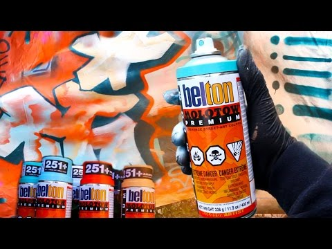 Belton Molotow 400ml Spray Paint Review And Cap Test