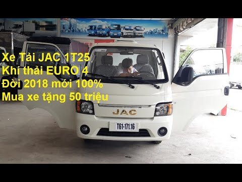 Giá bán xe tải JAC X5 1t25/ JAC 1,25 tấn năm 2019