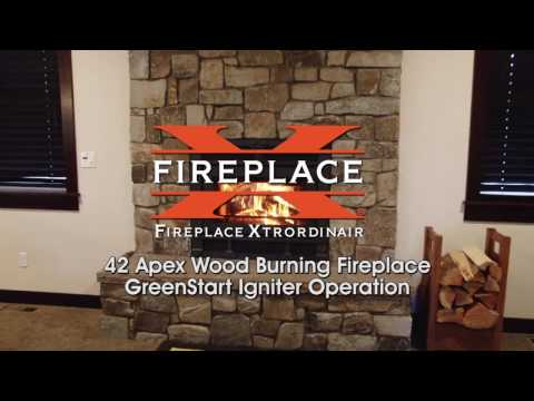 Fireplace Xtrordinair 42 Apex Wood Burning Fireplace