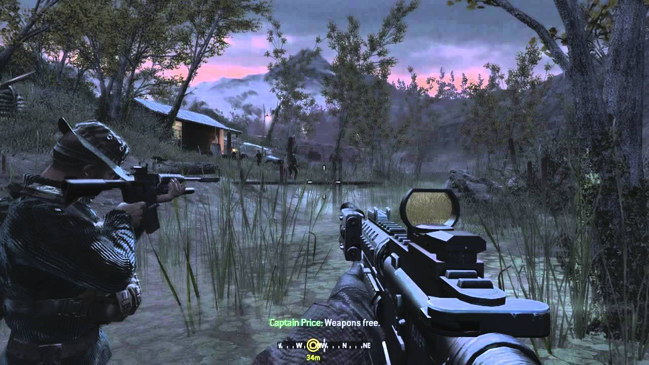 Call Of Duty 4 Modern Warfare Walkthrough Part 2 Youtube