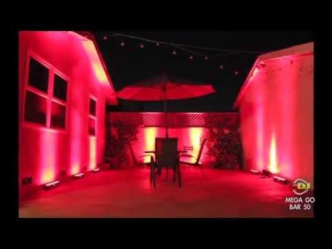 American DJ Mega Go Bar 50 Wireless LED Wash Light | MEG963