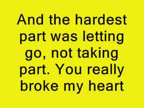 Coldplay - The Hardest Part Lyrics