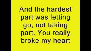 Coldplay - The Hardest Part Lyrics