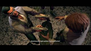Saints Row The Third - Coop Campaign (part 1) - When Good Heists Go Bad - Xbox 360