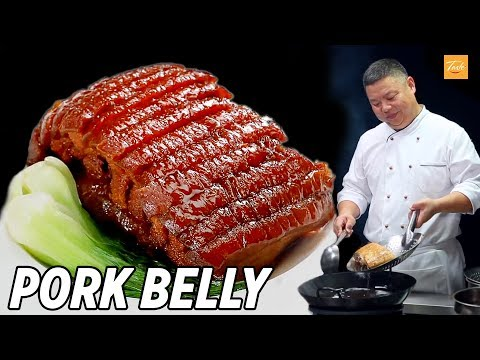 Chinese Pork Belly Recipe By Master Chef • Taste Show