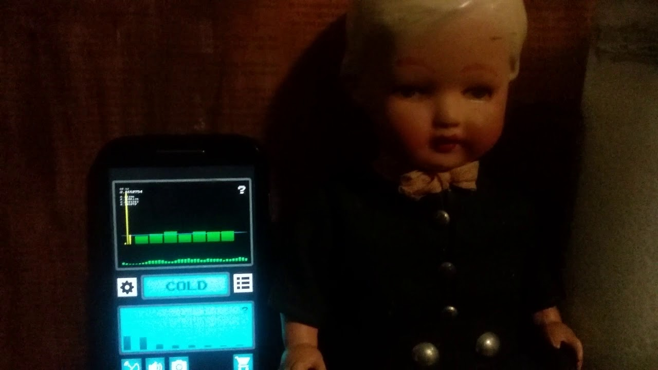 EVP using Ghost Hunting Tools App