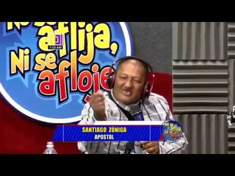 Apóstol santiago zuniga entrevista en television