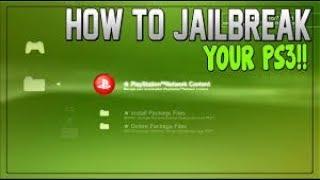 JAILBREAK PS3 OFW 4.82 WITH A USB STICK PS3XPLOIT 2018!!!