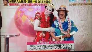 2015年7月14日(火)放送 TBS「世界の日本人妻は見た!」 日本エレキテ...