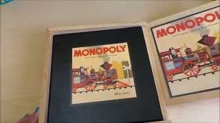 MGTRACEY Looks at the wooden classic Monopoly Board Game Set currently on sale