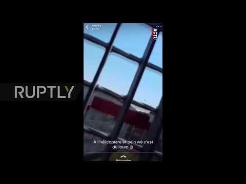 France: Top French convict pulls off prison break in spectacular helicopter escape