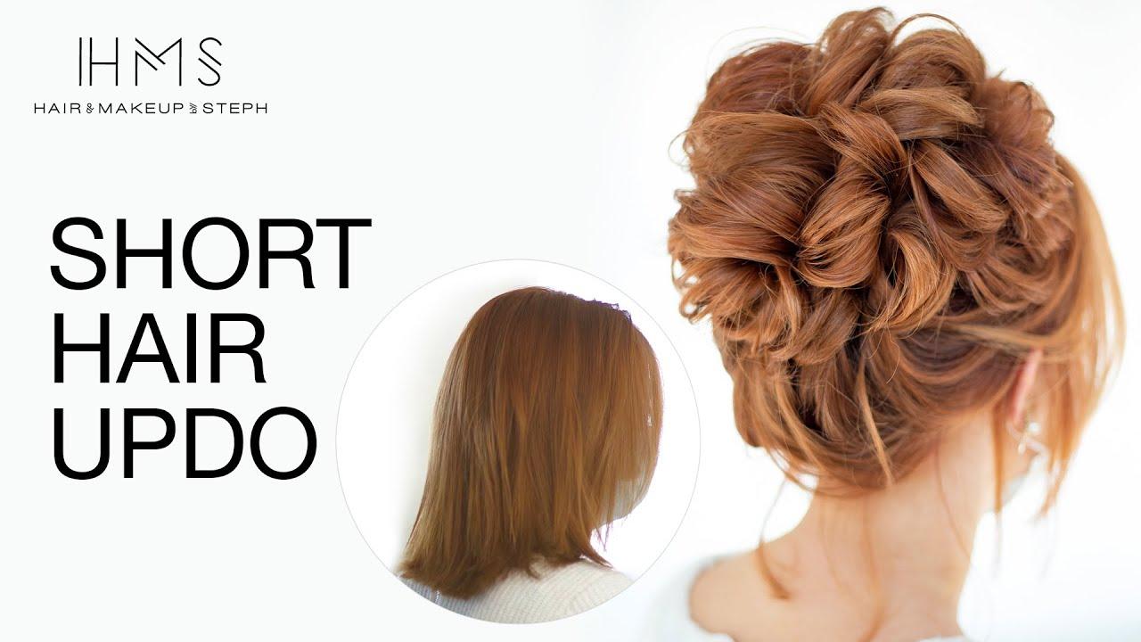 Download High Updo On Short & Fine Hair by Stephanie Brinkerhoff   Kenra Professional