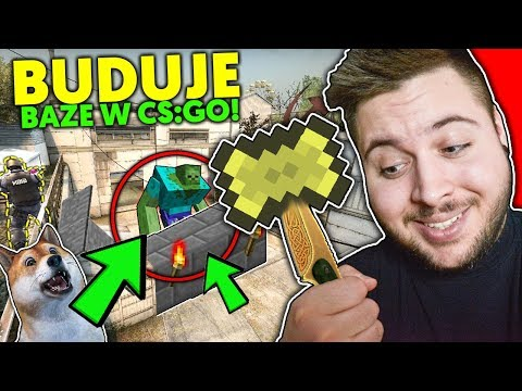 Budujemy BAZĘ w CS:GO z KiFim! 😱 BASE BUILDER w Counter Strike niczym MINECRAFT ! Yoshi & KiFI