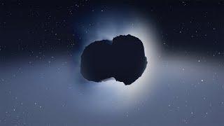 Rosetta Comet Mission in 360