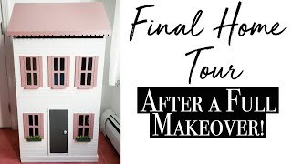 Staging & Final Home Tour ~ Dollhouse Makeover Series (Video 6 of 6)