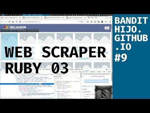 [20/06/18] Belajar Membuat Web Scraper Dengan Ruby Bagian 03 (ACTIVERECORD)