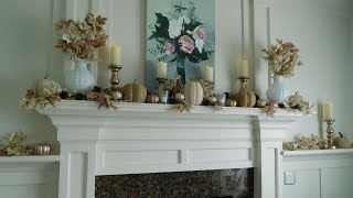 """Fall Home Decor Tour! And meet """"Nutella""""!"""