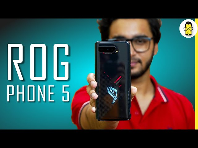 Asus ROG Phone 5 💥 Gaming Performance Test, Charging Test, Antutu Test | Price Starts at Rs. 49,999
