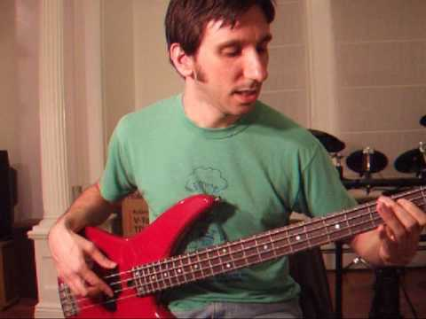 Lounge Act by Nirvana - How to play bass - YouTube