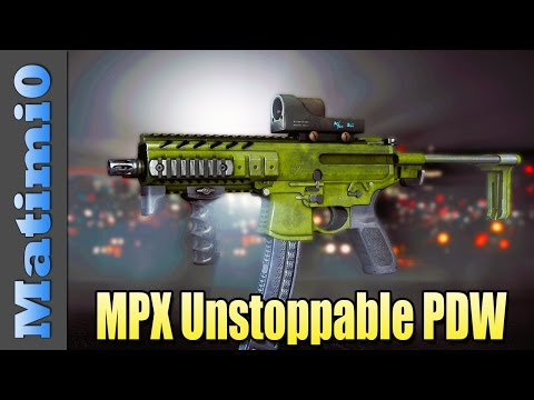 MPX: Unstoppable PDW - Squad Up! Battlefield 4