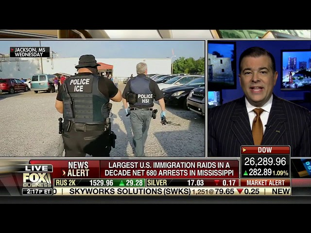 Immigration and Customs Enforcement (ICE) Raids and Deportations in Mississippi