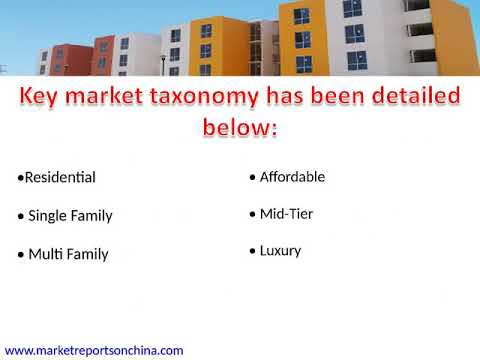 China Luxury Housing Precast Building Construction Market Size & Forecast 2022