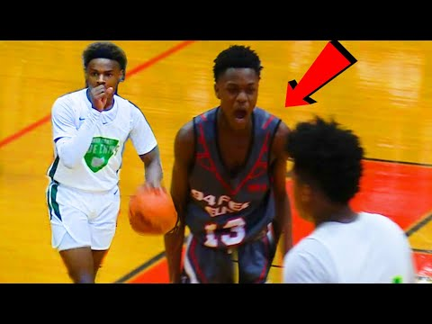 WHO IS #13? UNRANKED GUARD SHOCKS BRONNY AND THE BLUE CHIPS!!! - CRAZY FINISH