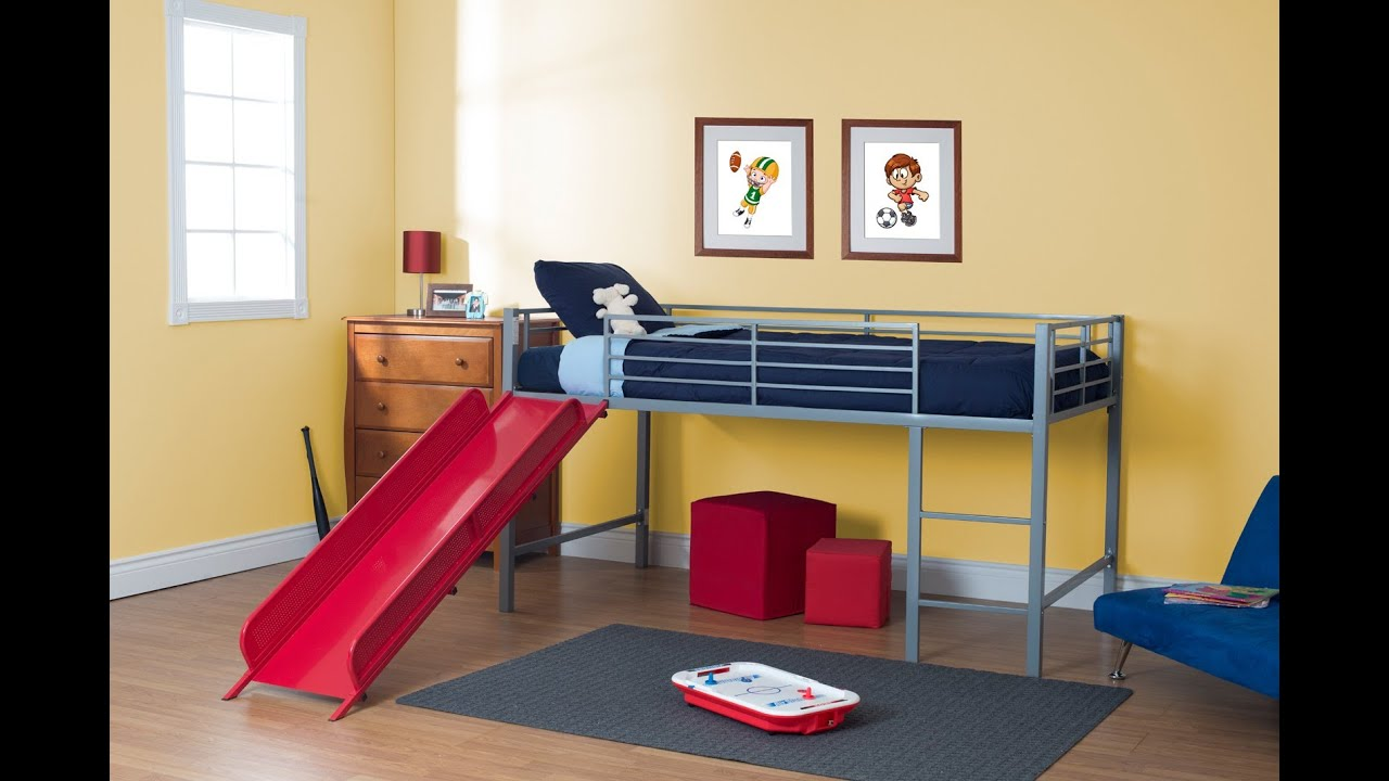 Dhp Junior Loft With Slide Youtube