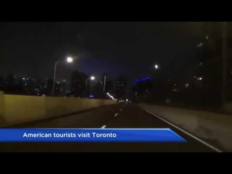 American Tourists hilariously Document Travel Through Toronto   latest news
