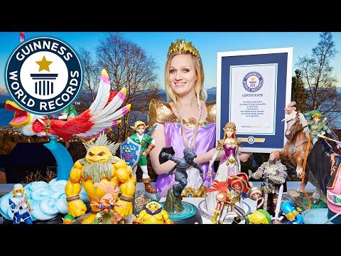 Largest collecti of Legend of Zelda memorabilia  Guinness World Records